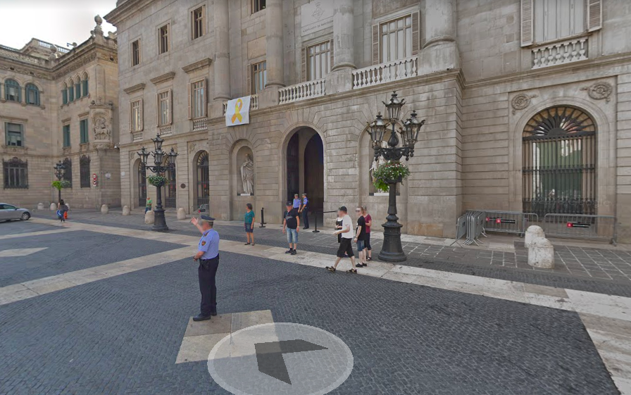 Captura de Google Street View