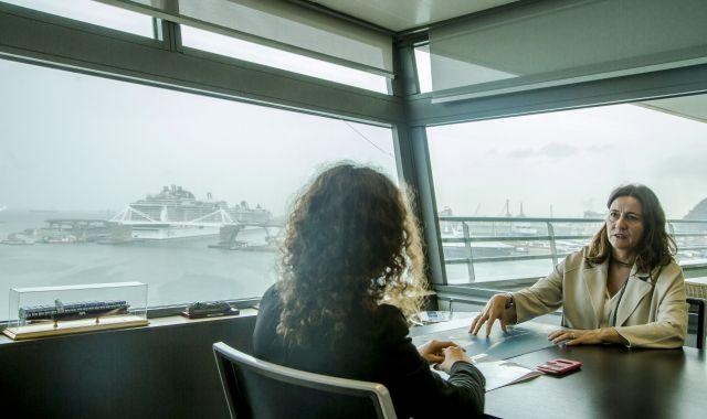 Conesa demana a l'Estat espanyol que treballi en connectar els ports amb l'interior | Àngel Bravo