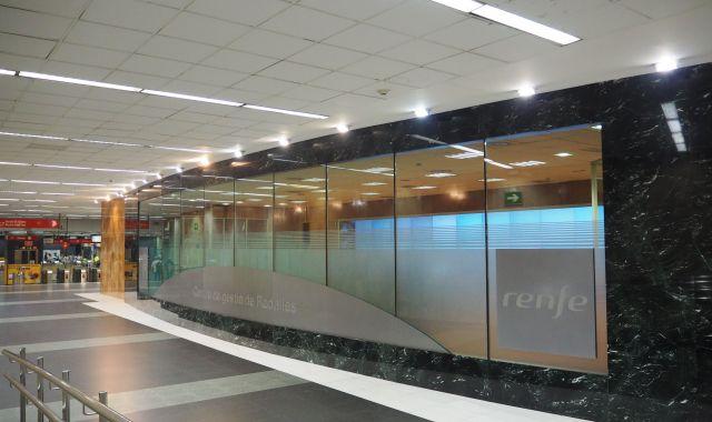 El centre de gestió de Rodalies del Clot | Cedida