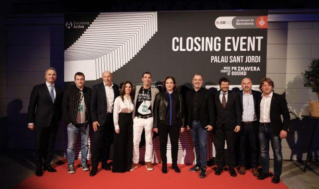 Les autoritats en l'acte de clausura del Tech Spirit Barcelona | ACN