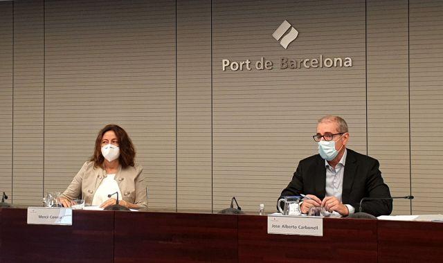 Conesa i Carbonell durant la presentació de resultats | Cedida